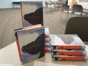 Copies of The Good Braider provided by our generous donors