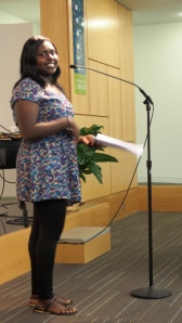 "Bianca Abdalla reads ""Be Free"" from The Good Braider"